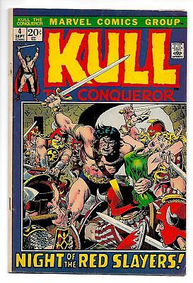 Kull The Conqueror #4 (Marvel, 1972) FN-