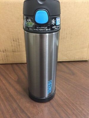 Thermos FUNtainer™ Stainless Steel, Insulated Bottle  Charcoal