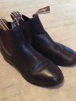 Showcraft Legends Brown Leather Riding Boots UK 6.5 Women's 8.5 Euro 40 US 8.5