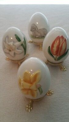 Goebel Collectable Easter Eggs (4)