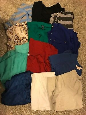 Lot of 12 Womens Business Casual Tops