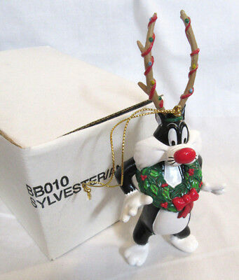 New in Box Danbury Mint Looney Tunes ~ Sylvester the Cat ~ Ornament