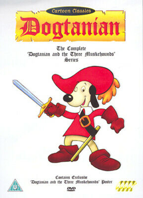 Dogtanian and the Three Muskehounds: Volumes 1-4 DVD (2004)