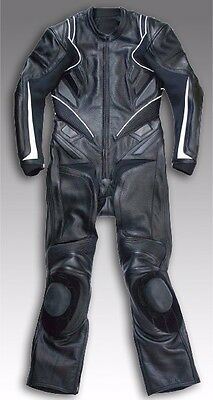 Custom Tailor Made Leather Sports Racing Motorcycle Suit Padded Model RK-2120