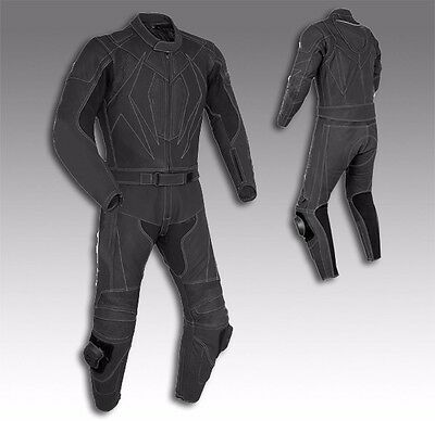 Custom Tailor Made Matte Dull Leather Sports Racing Motorcycle Suit RK-2079