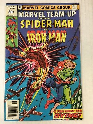MARVEL TEAM-UP #48 30¢ cover price variant (TEST MARKET) 1st series VG-FN