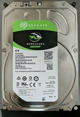 Brand New Seagate Barracuda 8TB Desktop Internal Hard Drive OEM ST8000DM004