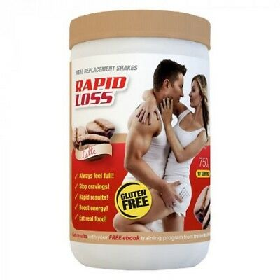 Rapid Loss Shakes Best Price Around 750G Various Flavours $32.50 Each Free Post
