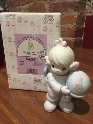 Precious Moments The Club That's Out of this World 1992  Figurine C0012