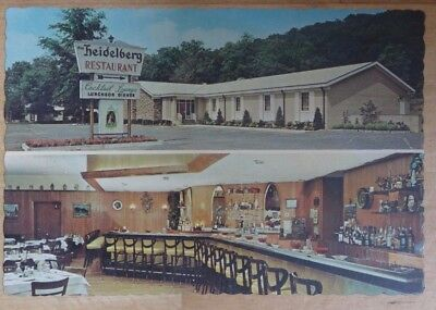 Ansichtskarte Restaurant The Heidelberg 1967 Scotch Plains N.J. Adolf Niemeyer