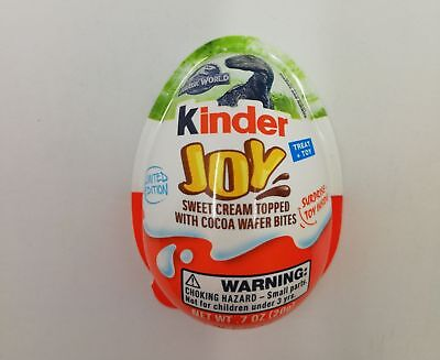 Guscio Vuoto Jurassic World Kinder Joy Usa 2018 Ferrero