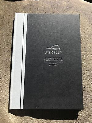FA CUP FINAL 2012 - VIP Hardback with £1,399 face value BOX ticket (very rare)