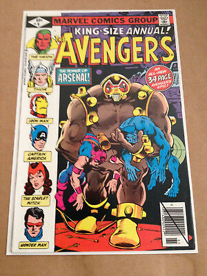 Avengers Annual # 9 - Cents / Giant-Size / 1St Arsenal - Marvel Comics 1979