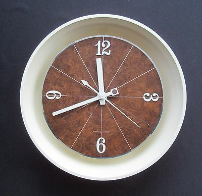 Mid Century Modern General Electric 2169 Wall Clock