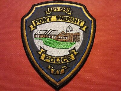 Collectible Kentucky Police Patch, Fort Wright, New