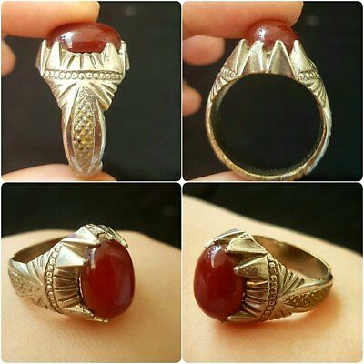 medieval brass With stone lovely Ring