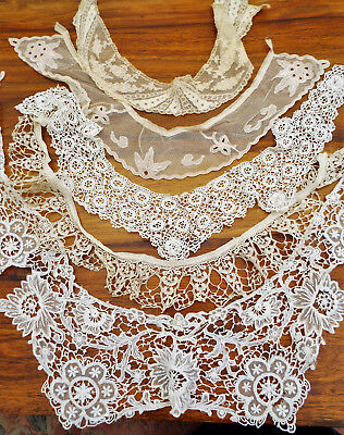Vintage Lace Collars/7 In Total