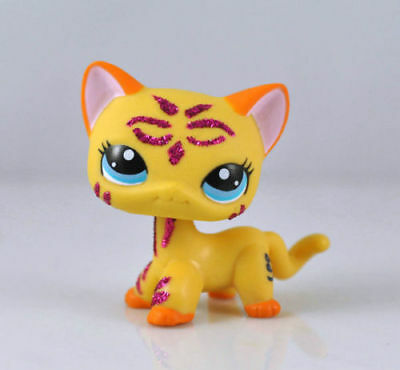 Pet Short Hair Cat Collection Child Girl Boy Figure Littlest Toy Loose LPS836