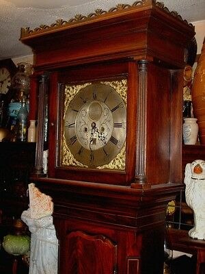 George Iii Grandfather / Longcase Clock By Monkhouse Of Carlisle
