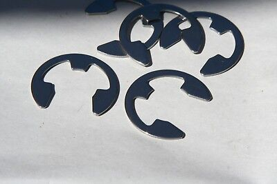 "20  Pieces Your Choice  1/16"" Thru  11/64""  E-Rings Steel"