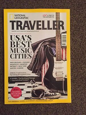 National Geographic Traveller mag - June 2018  - USA Music Cities - New Unread