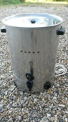 3Kw 26L Litre Stainless Electric Burco Catering Boiler Tea Urn Model: C26 H2