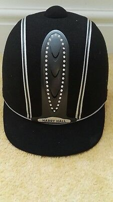 Brand new with tags Harry Hall Legend Riding Hat black Size 54 or 6 5/8