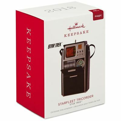 Hallmark Keepsake 2018 Star Trek™ Starfleet Tricorder Ornament