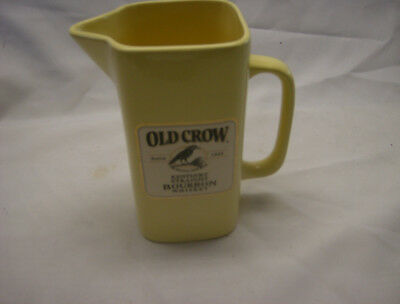 Old Crow Yellow Water Pitcher by Wade China of England in 1999-1 of 600 made