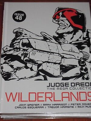 NEW SEALED Judge Dredd Mega Collection ISSUE 48 WILDERLANDS