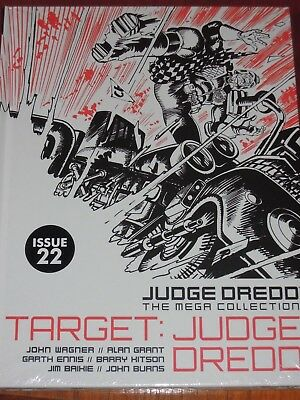 NEW SEALED Judge Dredd Mega Collection ISSUE 22 TARGET : JUDGE DREDD