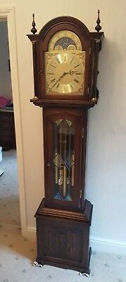 Old Charm Grandfather Clock - SENSIBLE  OFFERS CONSIDERED.