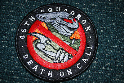 46th Squadron  Death on Call - Aufnäher - Patch -  Space 2063