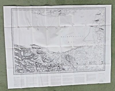 First Edition (1981 Reprint) of One Inch Ordnance Survey  (Bridgwater, Sheet 75)