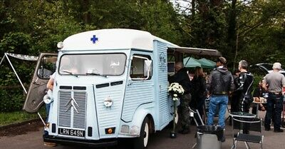 FULL BUSINESS SETUP - 1974 Citroen HY Coffee Van (MOT & Tax exempt - running)