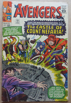 The Avengers #13, Silver Age Marvel From 1965.