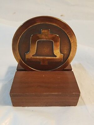 Vintage 1983 Bell System The End Of An Era - A New Beginning Medallion