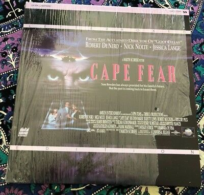 Cape Fear Letterbox Edition Laserdisc