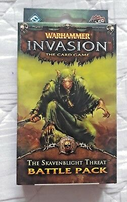 Warhammer Invasion The Card Game The Skavenblight Threat Battle Pack OOP LCG