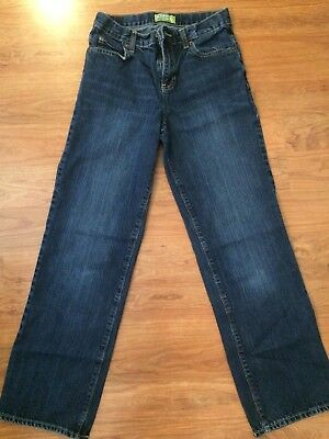 Youth Boy's Old Navy Jeans Blue Straight Size 14