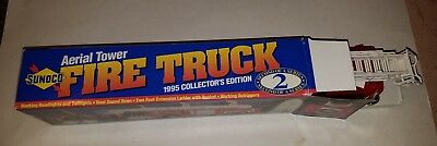 1995 Sunoco Aerial Tower Fire Truck in Orig Box, Collector's Ed, 2nd of a Series