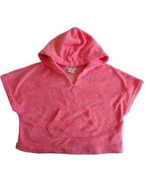 Ralph Lauren Authentic baby girls swimming bath terry towelling hooded cover up