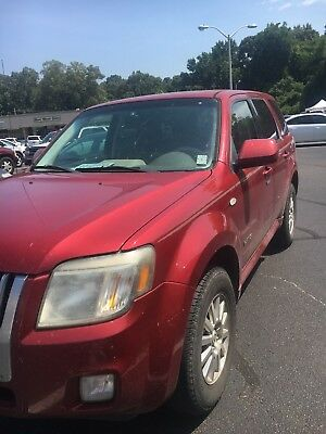 2008 Mercury Mariner Premier 2008 Mercury Mariner Premier 6cyl SUV Dark Red maroon Southern vehicle No Rust