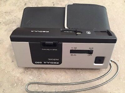 Pocket Camera Agfa Regula 590 motronic *Made in Germany* Taschen Kamera