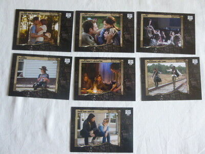 The Walking Dead Road to Alexandria Better Days 7 Chase Cards BD-1-3,5-8