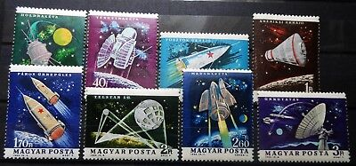 Hungary -  Cosmos 1964 Mi: 1991 - 1998 Mh Perforated