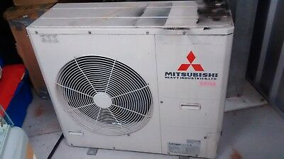 Mitsubishi Air Conditioner Outdoor FDC125VN Indoor Split 2 x FDKNA251R DID WORK