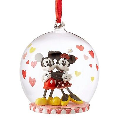 DISNEY Store 2018 SKETCHBOOK Ornament MICKEY MINNIE MOUSE Christmas Holiday NWT