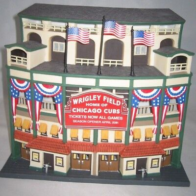 Department 56 Christmas In The City Wrigley Field Chicago Cubs