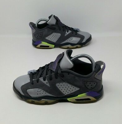 Nike Air Jordan 6 VI Retro Low GS Basketball Shoes Youth's Size 5Y